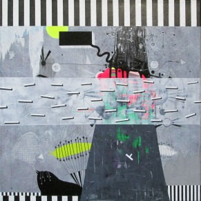 acrylic on canvas 70x70cm