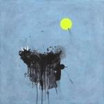mixed media on canvas 70x70cm2012